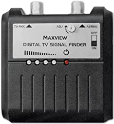 Maxview Mxl013 Digital Terrestrial Signal Finder Strength Meter Includes Battery