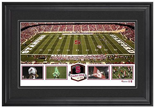 (Stanford Stadium Stanford Cardinal Framed Panoramic Collage-Limited Edition of 500 - College Team Plaques and Collages)