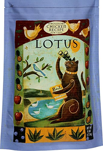 Image of Lotus Dry Adult Oven-Baked Chicken Recipe Cat Food, 6 Pounds