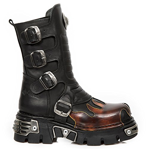 New Rock Botas Rojo 591x s1 M Estilo Rock Unisex Adulto Motero New rEqxYFrH