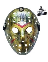 KINGEVA Halloween Mask Freddy Wars Jason Mask Cosplay Halloween Mask Party Mask (Copper)