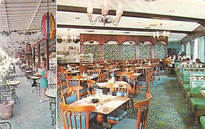 Postcard Cafe (F3993 Puerto Rico, Las Nereidas Cafe Postcard)