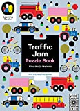 Traffic Jam: Puzzle Book - With a 6 piece floor puzzle! (The Learning Garden)