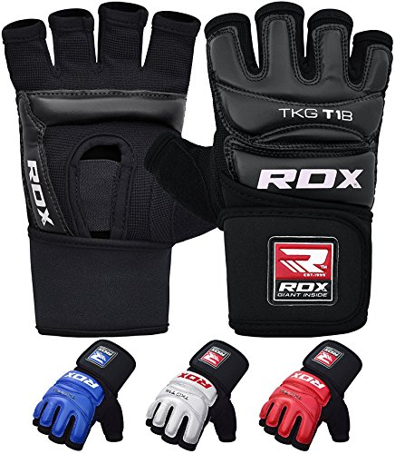 (RDX Taekwondo Gloves WTF Training Martial Arts Boxing Sparring TKD Punch Bag Mitts MMA Grappling Karate Fighting)