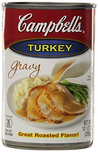 Campbell's Turkey Gravy, 10.5 oz.Cans, 24 Count by Campbell's Gravy Campbells Turkey