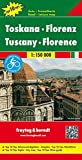Tuscany Florence (Road and Leisure Time Map)