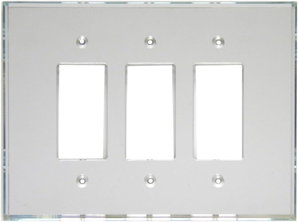 GlassAlike Triple Decora Acrylic Mirror Switch Plate - - Amazon.comAmazon.com