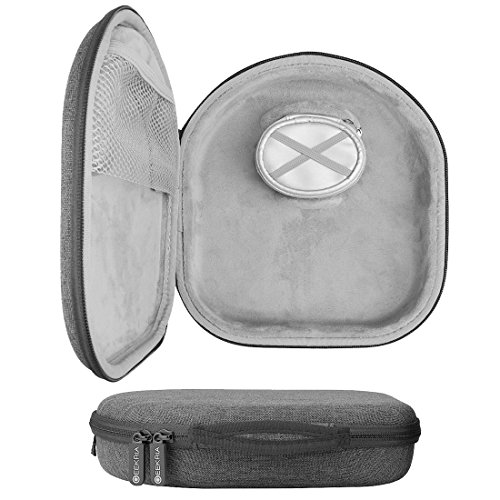 Geekria UltraShell Plus Headphones Case for BeoPlay H2, H6, H7, H8, H9, Sony MDR-XB950BT / Hard Shell Carrying Case / Headset Protective Travel Bag with Space for Cable, Charger and Accessories