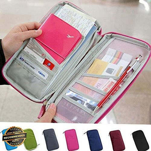 Gatton Travel Passport Credit ID Card Cash Wallet Purse Holder Case Document Bag | Style TRVIHR-11292130