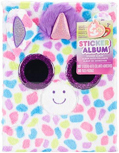 Darice TY Beanie Boo Unicorn Sticker Album