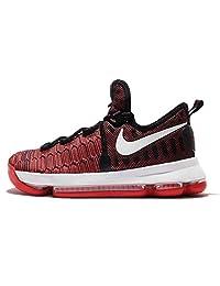 Nike Kid's Zoom KD 9 GS, HARD WORK-UNIVERSITY RED/WHITE-BLACK