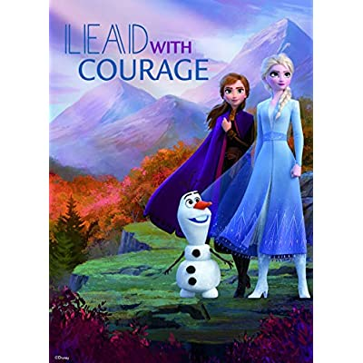 Ceaco Disney Frozen II 5 in 1 Multipack Jigsaw Puzzles, (2) 300 Pieces, (2) 500 Pieces, (1) 750 Pieces: Toys & Games