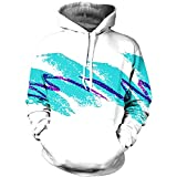 Mofgr Unisex 3D Paper Cup Hoodies 90s Jazz Solo Sweatshirts Graphic Tops Couple Lovers NN10014 XXL