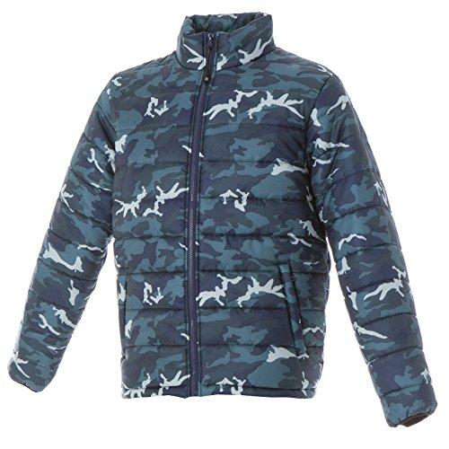 Tasche Cappuccio Da Blue Camouflage Giubbotto Lavoro Jrc Giacca Con Imbottita Korea Tipo Piumino 0AwSxfqZ8