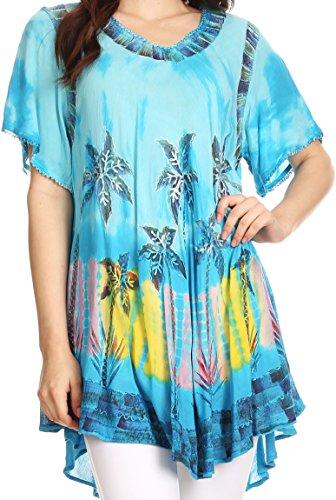 Sakkas Alohanani Caftan Dress/Cover Up