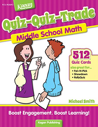 Quiz-Quiz-Trade-Middle School Math, Level 2