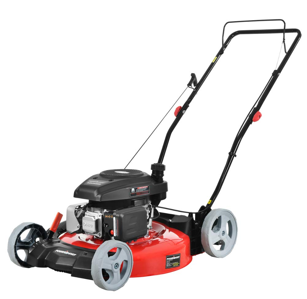 PowerSmart DB2321C Lawn Mower, Red and Black by PowerSmart