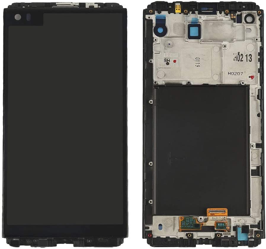 """for LG V20 LCD VS995 VS996 LS997 H910 LCD Display Touch Screen Digitizer with Frame Assembly Replacements for LG V20 Screen 5.7"""" (Black with Frame)"""