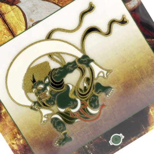 Japanese Cells - Japanese Art Sticker/Decal for Cellphone Premium Accessories-# Fujin (Wind God)