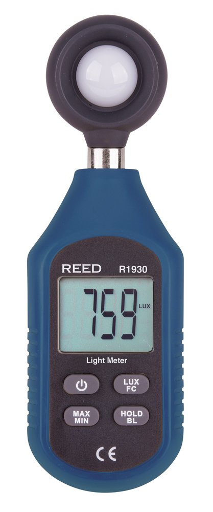 Reed Instruments R1930 Light Meter, Compact Series