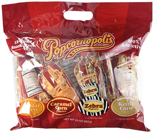 Popcornopolis Gluten Snack Size DELICIOUS Variety product image