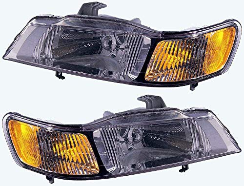 - For 1999 2000 2001 2002 2003 2004 Honda Odyssey Headlights Headlamps Assembly Driver Left and Passenger Right Side Pair Set Replacement HO2502114 HO2503114