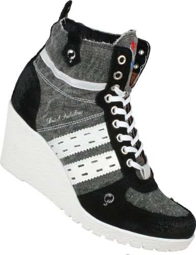 Tacco Dutch Quick Nero Col Sneaker Q9031113225 Fabulous schwarz black Donna fqwwXH4