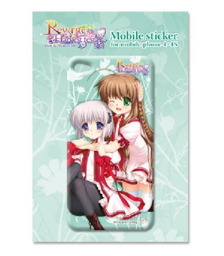 ! Rewrite Harvest festa mobile sticker (4.4 S corresponding) A: Kobe bird & Kagari (japan import) by Toys Planning