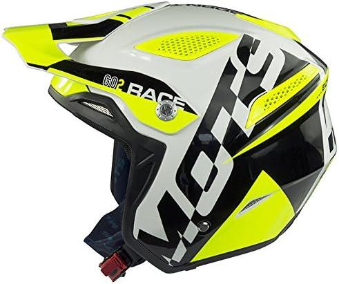 Gr/ö/ße M Mots Helm Trial GO2 RACE schwarz//fluo M Fluo