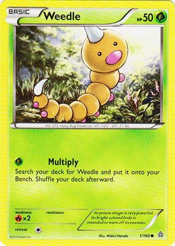 Pokemon - Weedle (1/160) - XY Primal Clash