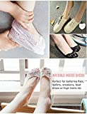 Little Girls/Women No Show Low Cut Lace Flats Non