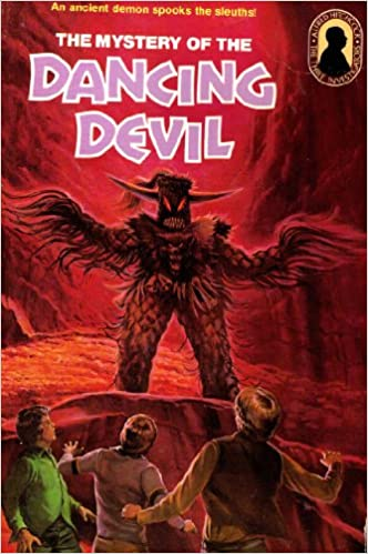 Mystery of the dancing devil the three investigators mystery series mystery of the dancing devil the three investigators mystery series 25 alfred hitchcock 9780394848624 amazon books fandeluxe Choice Image