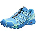 SALOMON Speedcross 4 GTX, Scarpe da Trail Running Donna – 41 1-3 EU, Blu (Aquarius-Beach Glass-Hawaiian Surf Aquarius-Beach Glass-Hawaiian Surf)