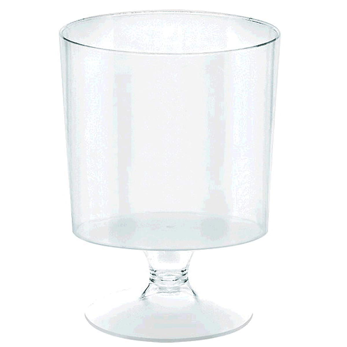 amscan Clear Tiny Pedestal Cup   2 oz.   240 Ct.