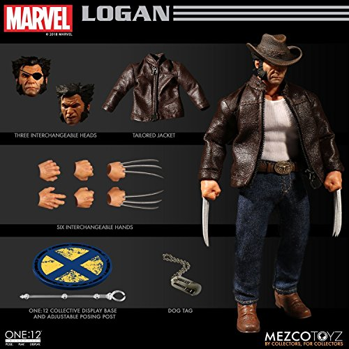 Mezco Toys One:12 Collective: Marvel Logan Action Figure from Mezco