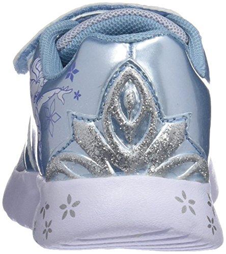 Disney Mädchen Girls Kids Athletic Sport Gymnastikschuhe L.Grey/L.Blue