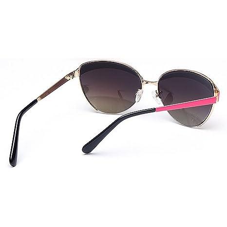 8750f90c7d Ojos de Gato Estilo Color Lente Gafas de Sol de la señora protección UV  para la conducción al Aire Libre Playa de Viaje Gafas de Sol clásicas (Color  ...