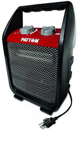 Patton PUH4842M-RM Portable Recirculating Utility Heater, Medium, Red/Black Garage, Shop And Utility Heaters Heater Patton Portable Utility