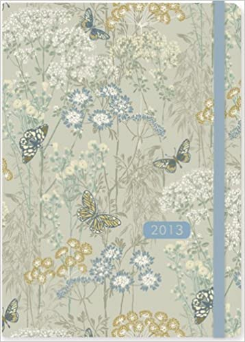 2013 dusky meadow 16 month weekly planner compact engagement calendar