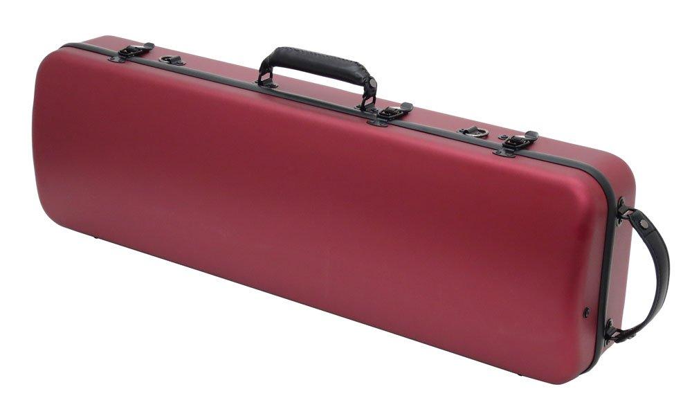 バイオリンケース カーボンマック CFV-1S サテン ワインレッド B07D898FCY サテン ワインレッド サテン ワインレッド