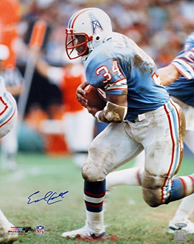 Earl Campbell Signed Autographed Houston Oilers 16x20 Photo TRISTAR COA Signed Autographed Oilers