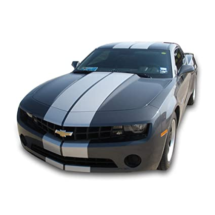 Bubbles Designs 1x Full Stripe Kit Decal Sticker Graphic Compatible with  Chevrolet Camaro SS LS LT 5th 6th Gen