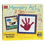 : Creativity For Kids Memory Art 2 Tiles to Paint and Frame