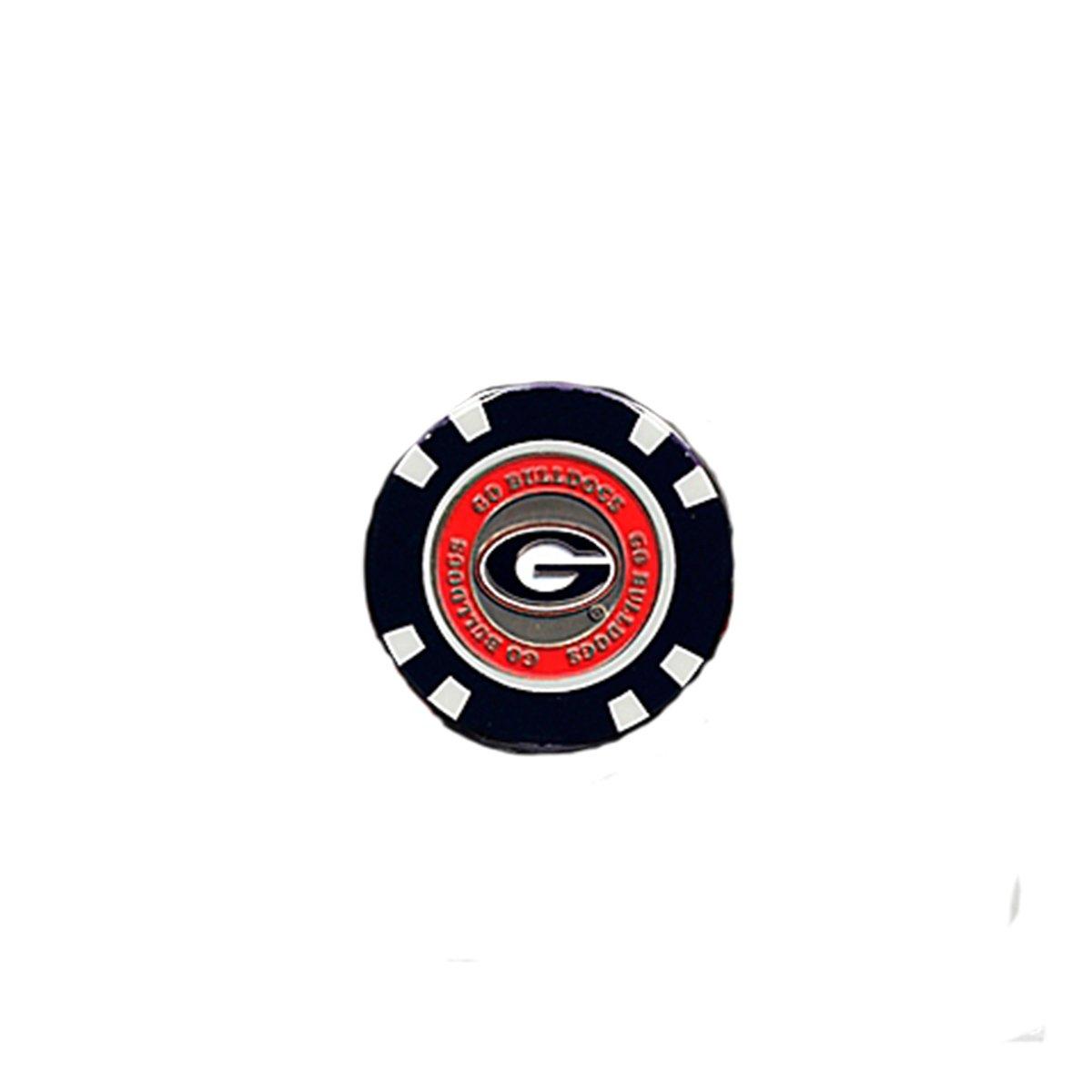 チームゴルフUniversity of Georgia UGAロゴゴルフチップマーカー   B07B11GMMM