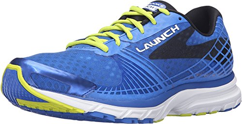 Brooks Men's Launch 3 Electric Blue/Lime Punch/Black Sneaker...