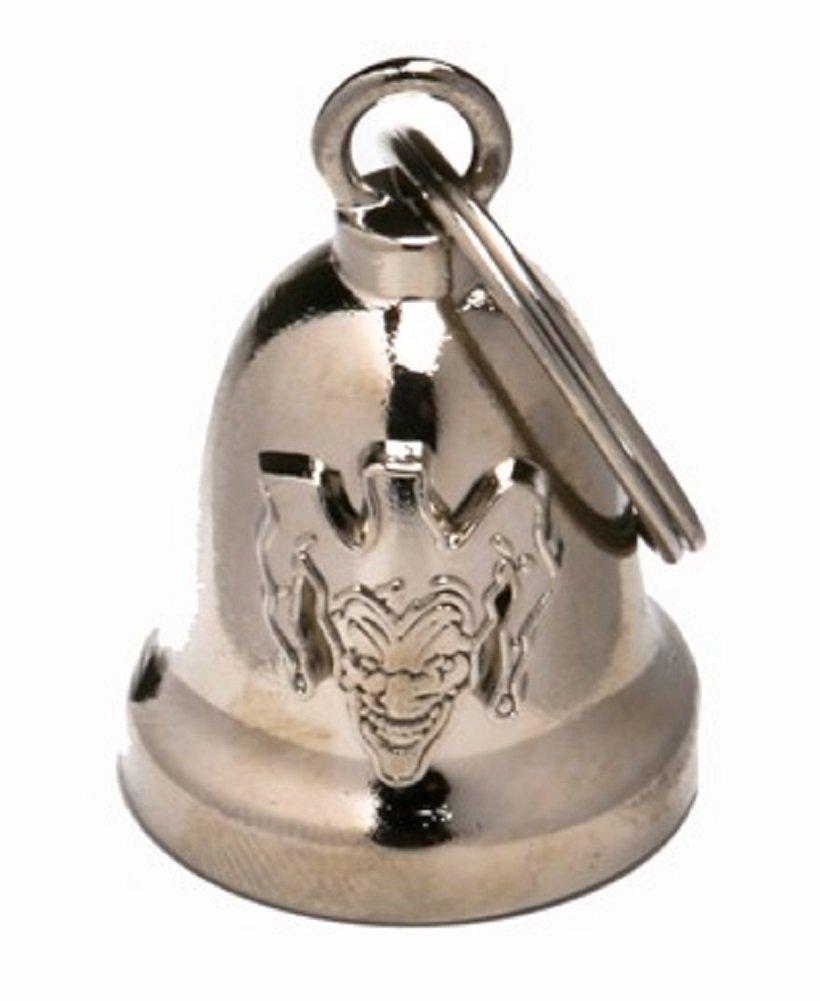 Evil Joker Chrome Motorcycle Gargoyle™ Bell
