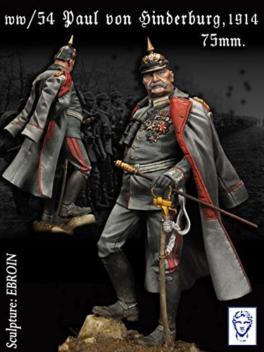 Alexandros Models 75mm Paul Von Hindenburg White Metal Figure Kit #WW/54 (Hindenburg Model compare prices)