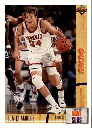 Amazon 1991 Upper Deck Basketball Card 92 174 Tom Chambers Near Mint Collectibles Fine Art