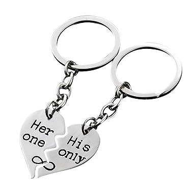 Amazon.com: Llavero con diseño romántico de Iuhan, ideal ...