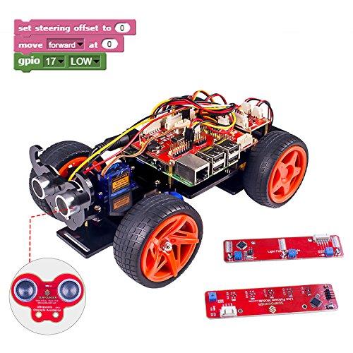 SunFounder Raspberry Pi Smart Robot Car
